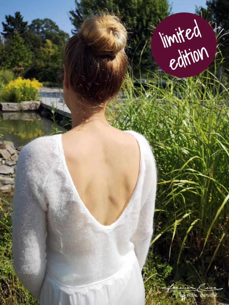 #be love Brautpullover mit Spitze