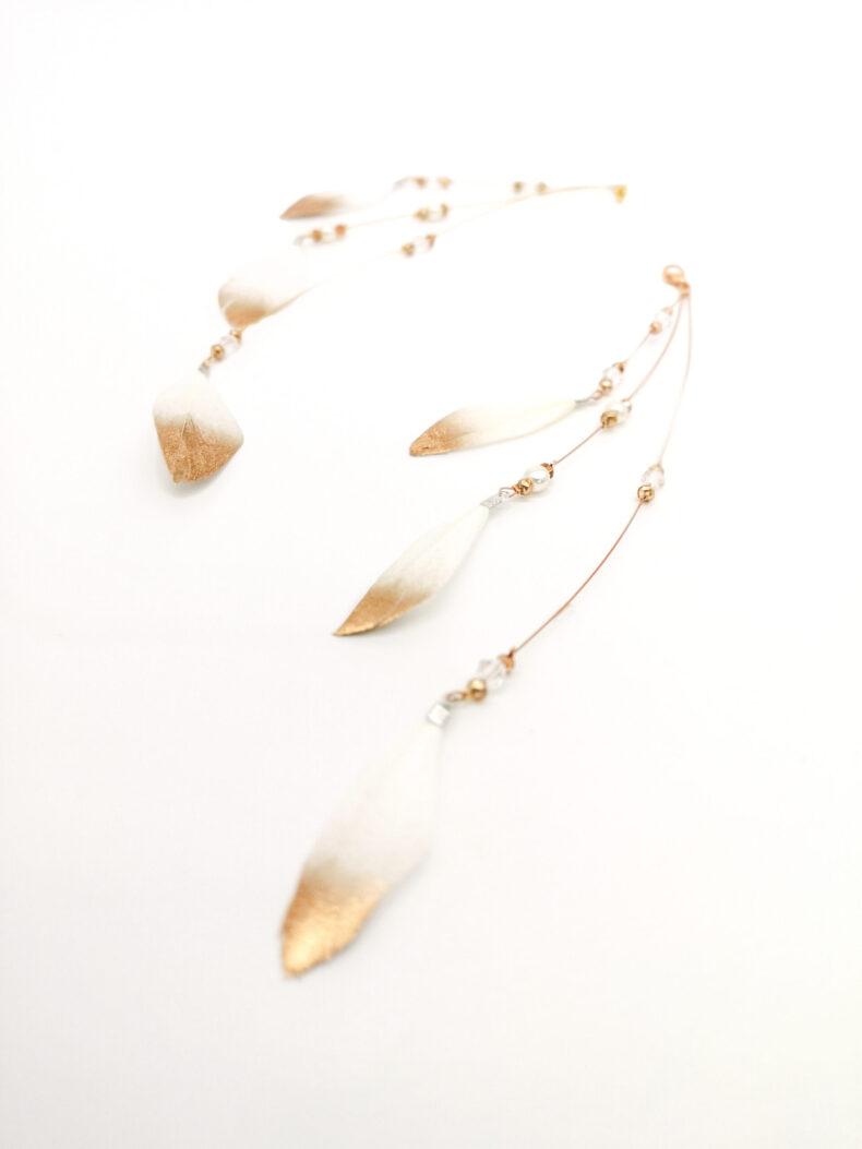 #feather charm midi