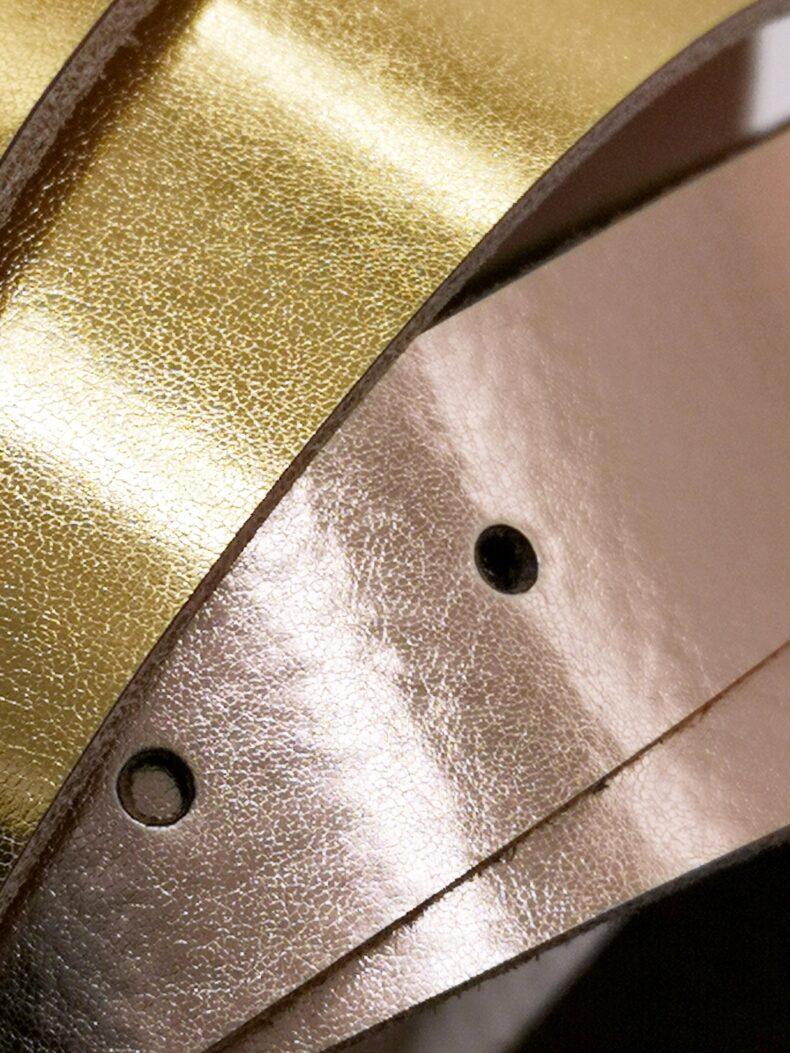 #leather belt roségold