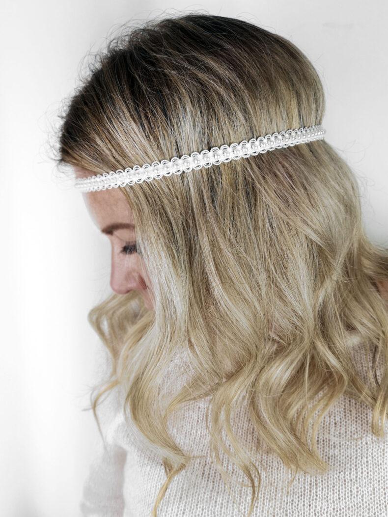 #hairband - Haarband mit Perle