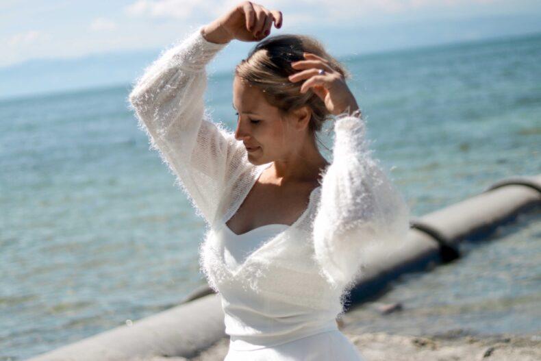 #be passion Pullover mit Puffärmeln
